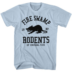 Image for The Princess Bride T-Shirt - Fire Swamp Rodents of Unusual Size