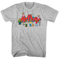 Image for Arthur T-Shirt - Kids Group with Logo