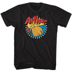 Image for Arthur T-Shirt - Logo with Fist