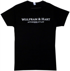 Image Closeup for Angel Wolfram and Hart Girls T-Shirt