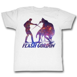 Image for Flash Gordon T-Shirt - Duel