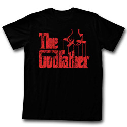 Image for Godfather T-Shirt - Logo Red