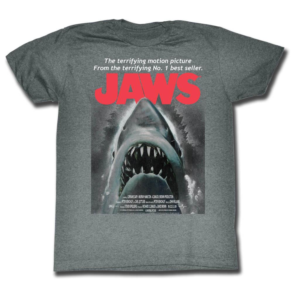 926675f2 Jaws T-Shirt - Beware - NerdKungFu