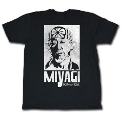 Image for Karate Kid T Shirt - Miyagi