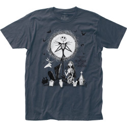 Image for The Nightmare Before Christmas Graveyard T-Shirt