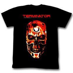 Image for Terminator T-Shirt - Red Face