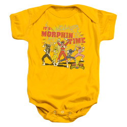 Image for Mighty Morphin Power Rangers Morphin Time Infant Baby Creeper