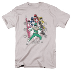 Image for Mighty Morphin Power Rangers T-Shirt - Ranger Manga