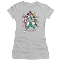 Image for Mighty Morphin Power Rangers Girls T-Shirt - Ranger Manga