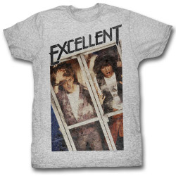 Image for Bill & Ted's Excellent Adventure T-Shirt - Excellent