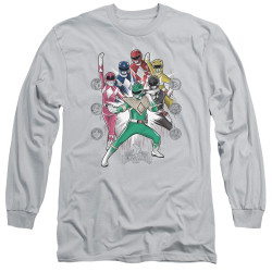 Image for Mighty Morphin Power Rangers Long Sleeve T-Shirt - Ranger Manga
