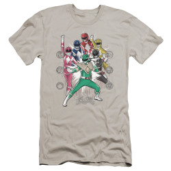 Image for Mighty Morphin Power Rangers Premium Canvas Premium Shirt - Ranger Manga