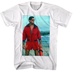 Image for Baywatch T-Shirt - on the Beach
