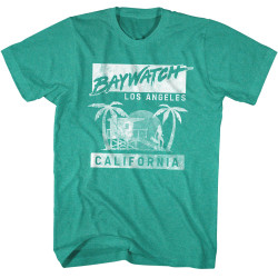 Image for Baywatch T-Shirt - Los Angeles California