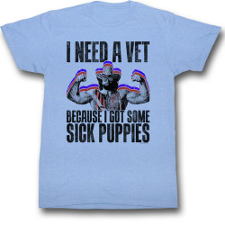 Image for Macho Man T-Shirt - Sick Puppies
