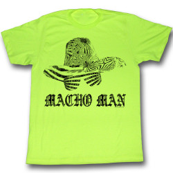 Image for Macho Man T-Shirt - Macho Hat