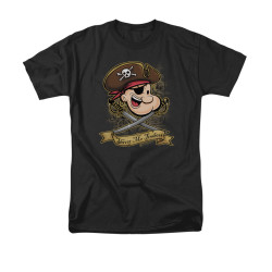 Image for Popeye the Sailor T-Shirt - Shiver Me Timbers