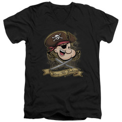 Image for Popeye the Sailor T-Shirt - V Neck - Shiver Me Timbers