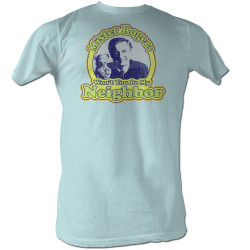 Image for Mr Rogers T Shirt - Won't You Be My Neighbor