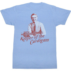Image for Mr Rogers T Shirt - Keeper of the Cardigans