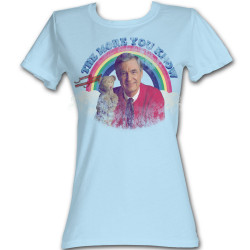 Image for Mr. Rogers Girls T-Shirt - the More You Know