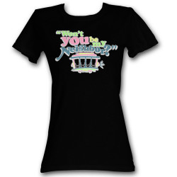 Image for Mr. Rogers Girls T-Shirt - Cute Neighbor