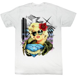 Image for Norma Jean as Marilyn T-Shirt - Diamond