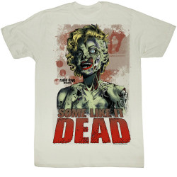 Image for Norma Jean as Marilyn T-Shirt - Hollywood Dead