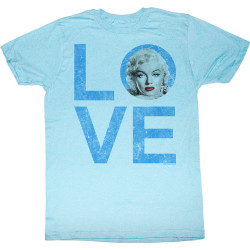Image for Norma Jean as Marilyn T-Shirt - Love