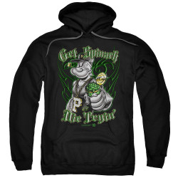 Image for Popeye the Sailor Hoodie - Get Spinach