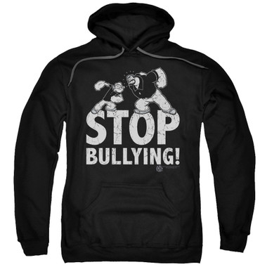 Image for Popeye the Sailor Hoodie - Stopy Bullying