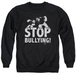 Image for Popeye the Sailor Crewneck - Stopy Bullying