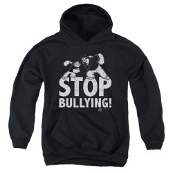 Image for Popeye the Sailor Youth Hoodie - Stopy Bullying