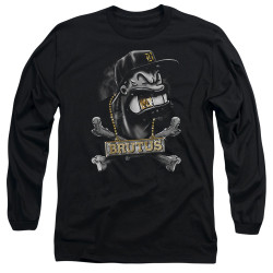 Image for Popeye the Sailor Long Sleeve T-Shirt - Brutus