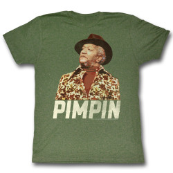 Image for Redd Foxx T-Shirt - Pimpin