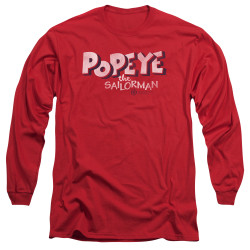 Image for Popeye the Sailor Long Sleeve T-Shirt - You Want Some of This?