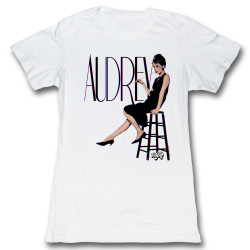 Image for Hollywood Sirens Girls T-Shirt - Audrey in 3D!
