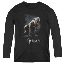 Image for Lord of the Rings Women's Long Sleeve T-Shirt - Gollum