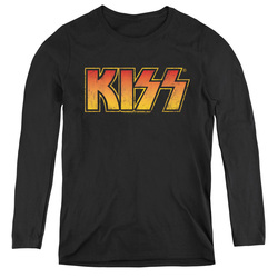 Image for Kiss Women's Long Sleeve T-Shirt - Classic