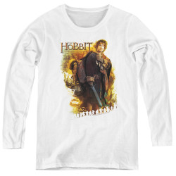 Image for The Hobbit Women's Long Sleeve T-Shirt - Bilbo