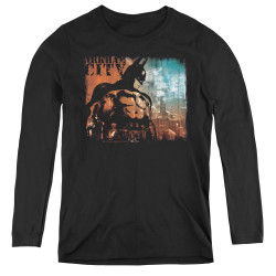 Image for Arkham City Women's Long Sleeve T-Shirt - City Knockout