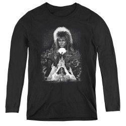 Image for Labyrinth Women's Long Sleeve T-Shirt - Castle