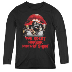 Image for Rocky Horror Picture Show Women's Long Sleeve T-Shirt - Casting Throne
