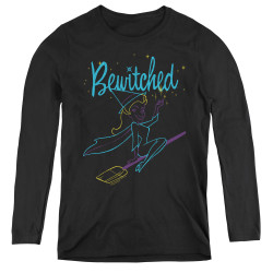 Image for Bewitched Women's Long Sleeve T-Shirt - Neon Lines