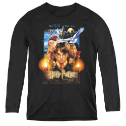 Image for Harry Potter Women's Long Sleeve T-Shirt - Movie Poster