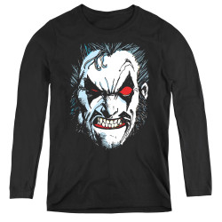Image for Lobo Women's Long Sleeve T-Shirt - Face
