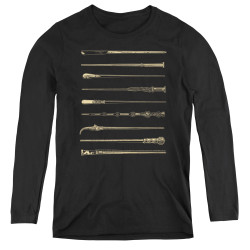 Image for Fantastic Beasts: the Crimes of Grindelwald Women's Long Sleeve T-Shirt - Wands