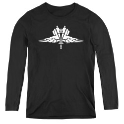 Image for Starship Troopers Women's Long Sleeve T-Shirt - Insignia