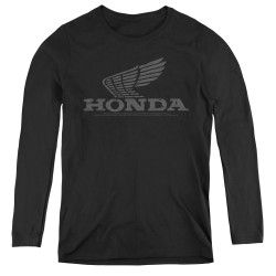 Image for Honda Women's Long Sleeve T-Shirt - Vintage Wing