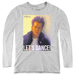 Image for Footloose Women's Long Sleeve T-Shirt - Let's Dance